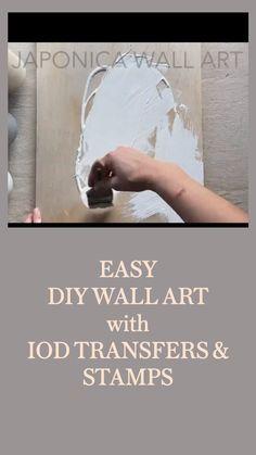 Beyond Easy Home Decor - DIY Wall Art
