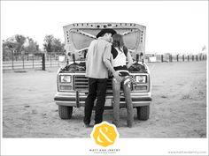 Love, trucks and puppies! Bartley Ranch engagement photos with #renoweddingphotographer team, Matt and Jentry.  © 2013 Matt and Jentry: Photographers   www.mattandjentry.com