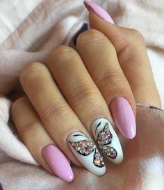 Boxing Day, Nail Art Designs, Trendy Nails, Nail Ideas, Acrylic Nails, Inspiration, Nail Designs, Butterflies, Fingernail Designs