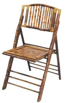 wood folding chair bamboo atlas party rental around the house
