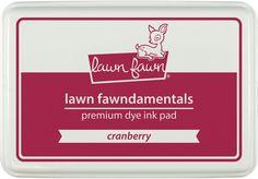 cranberry ink pad