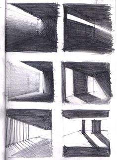 Best lighting architecture shadow interiors 41 ideas lighting architectural drawings of interesting buildings architectural buildings drawings ilustration interesting Architecture Ombre, Croquis Architecture, Shadow Architecture, Architecture Design, Light Architecture, Landscape Architecture, Classical Architecture, Building Architecture, Concept Architecture