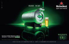 Heineken - Sub Saga, France, Heineken, Alcohol, Baby Born, Early French