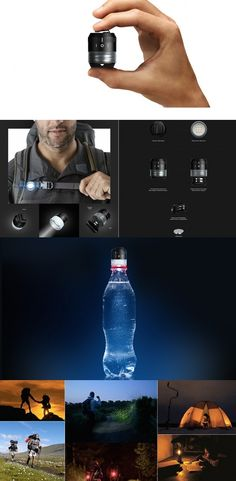 Designed with adventure in mind, Hive is a portable lighting gadget that provides big #brightness despite its small size! Totally versatile, it can be attached on your gear for lighting a path, at the top of a tent to illuminate the interior, or even attached to a water bottle to create a fireless lantern. Take it on the road less traveled for instantaneous illumination!