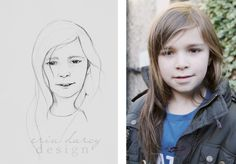 Erin Darcy Design - Photo to Pencil - Sketch