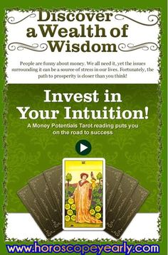 Money and Career reading - If you are looking to read your 2015 horoscope, then look no further. The horoscopes for 2015 are available right here. Find out how the coming year will be for you in terms of love, finance, relationships, wealth, health, career, etc. ... Learn More: http://www.horoscopeyearly.com/free-career-astrology/