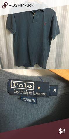 6d9353e8 Polo Ralph Lauren polo Vintage blue grey polo by polo Ralph Lauren size  small made in