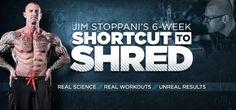 Bodybuilding.com - Jim Stoppani's Six-Week Shortcut To Shred training program: a science-based approach.