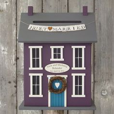 Wedding Card Birdhouse