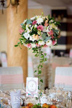 Wedding Wall, Mod Wedding, Floral Wedding, Wedding Flowers, Flower Centerpieces, Wedding Centerpieces, Wedding Bouquets, Tropical Flower Arrangements, Eiffel Tower Vases