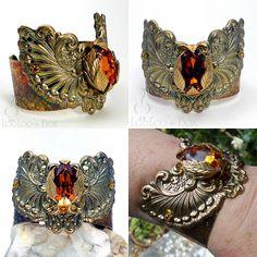Bold Brass Cuff Bracelet B0082 by Robin Delargy / LooLoo's Box, via Flickr