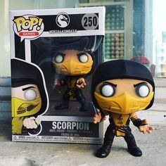 DAILY DEAL JAN31 - Mortal Kombats Scorpion Funko POP is 10% off in store and online.  #mindzai #dailydeal #mortalkombat #scorpion #funko #popfunko #arttoys #arttoy #vinyltoy #vinyltoys #designertoys #designertoy #art #vinyl #designer #toy #toys #collectibles #collectible #markham #toronto