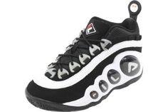6d449c6e243b Fila Men s Bubbles White Black Fila Red Athletic Sneakers Shoes Sz  7.5.  Abilene TexasTexas UsaRed Basketball ...