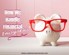 The best way to handle emergencies is by using an Emergency fund. It helps keep you on track and from going into debt further. One Income Family, Debt, Piggy Bank, Purpose, Track, Handle, Money Box, Runway, Money Bank