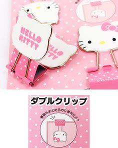 Hello Kitty clip, These come in a pack of five. I love them. Cute addition to my office.