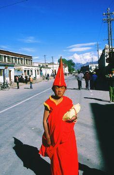 Mini Dali Lama in Lhasa, Tibet