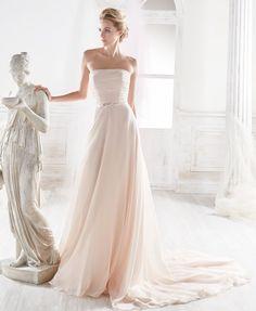 Moda sposa 2018 - Collezione NICOLE. NIAB18122. Abito da sposa Nicole.