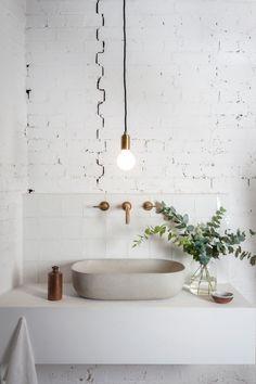 Home Decorating Ideas Bathroom Minimal Interior Design Inspiration Interior Design Examples, Interior Design Inspiration, Design Ideas, Interior Ideas, Interior Plants, Design Trends, Best Bathroom Plants, Beautiful Bathrooms, Modern Bathroom