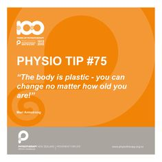 #physio tips - you can change