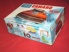 Plastic Model JUNKYARD 1968 MPC Camaro SS 396 Box, Instructions and Misc Parts. #MPC Hobby Kits, Camaro Ss, Car Humor, Plastic Models, Box, Snare Drum