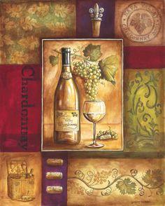 Vintage Wine Valley Wine I Canvas Art - Gregory Gorham x - Vintage Wine, Vintage Labels, Wine Making Process, Vintage Trends, Vintage Ideas, Vintage Stuff, Wine Decor, Wine Art, Italian Art
