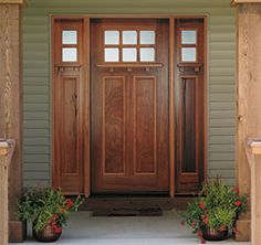 anderson craftsman style windows | craftsman entry doors from pella s craftsman collection bring to life ...
