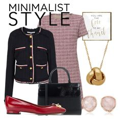 """Minamalist style"" by another-woman ❤ liked on Polyvore featuring Oliver Gal Artist Co., Weekend Max Mara, Veronica Beard, GUESS, MICHAEL Michael Kors and Monica Vinader"