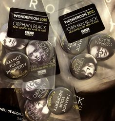 Séries que eu amo: WonderCon 2015: Orphan Black - Fotos