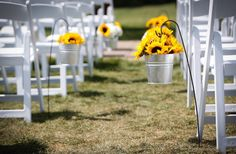 Sunflowers, ceremony