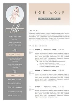 11 dazzling creative resume templates more we offer our - Amazing Resume Templates