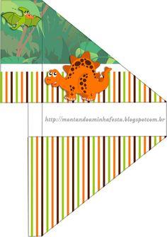 <center>Dinossauros</center> | Montando minha festa