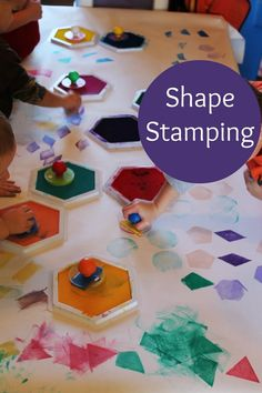 shape stamps for preschoolers