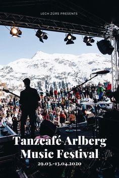 Wenn in Lech Zürs das Tanzcafé Arlberg Music Festival angesagt ist, dann wird nicht nur die Skipiste zur Tanzpiste, sondern das ganze Dorf verwandelt sich in einen einzigartigen Tanzsalon. Ob inmitten der traumhaften Bergkulisse, in eleganten Hotelbars oder im Club – überall wird gefeiert und getanzt. Mount Everest, Events, Mountains, Nature, Movies, Movie Posters, Travel, Dance, Naturaleza