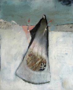 demeters search by Jeanie Tomanek oil on canvas