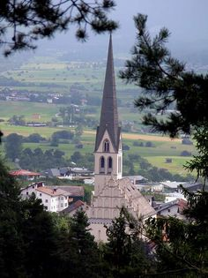 Austria, Tyrol, Imst, Maria Himmelfahrt Church