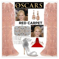 """""""#red carpet look"""" by christinadrussell ❤ liked on Polyvore featuring Zuhair Murad, Manolo Blahnik, Accessorize and LE VIAN"""