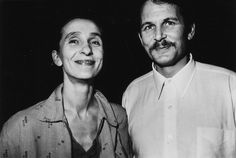 Pina Bausch and her husband Ronald Kay in 1982 | Photo by William ...