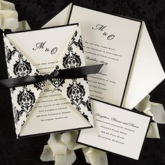 Wrapped with Elegance   #wedding invitation #invitation