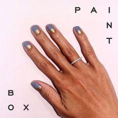 Halo Effect #nails #nailart #paintboxmani