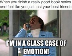 So many emotions… | 19 Hilarious Pictures That Accurately Describe What It's Like To Finish A Book