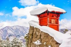 Buy Mountain Temple Japan by SeanPavonePhoto on PhotoDune. Yamadera, Japan at the Mountain Temple in winter. Pisa Tower, Borobudur Temple, Historical Monuments, Parthenon, Japan Photo, Buddhist Temple, Weekend Trips, Wonders Of The World