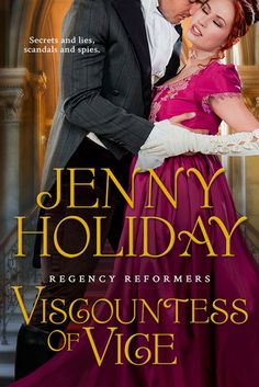 Books Eater: Review: The Viscountess of Vice by Jenny Holiday