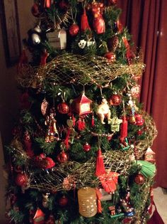 asian themed tree