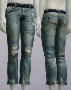 S4 _Vintage Jeans #2 _Male (5 color) : 네이버 블로그