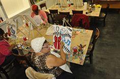 North Dekalb Mall - Creative Art Connection - 2050 Lawrenceville, Hwy, F15, North Decatur, GA 30033 - ATLANTA GEORGIA - Family Art Class