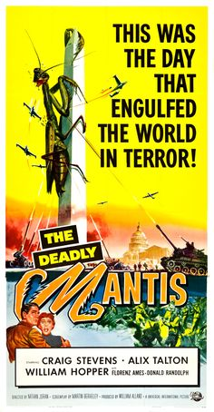 Apparently Reynold Brown is responsible for a LOT of my favorite old monster movie posters