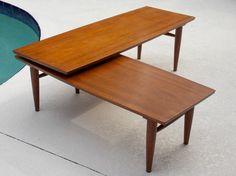 Mid Century Long Coffee Table Danish Modern 1960s by MidCenturyFLA Lane Furniture, Danish Modern, 1960s, Mid Century, Coffee, Table, Home Decor, Kaffee, Decoration Home