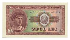 ROMANIA banknote 10 LEI 1952.   eBay