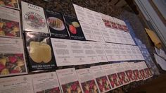 So here is my 2017 seed line up for PEPPERS AND TOMATOES! This is the most NEWEST seeds i will be growing but i have quite a few that will be a surprise once. Buy Seeds, Pepper Plants, Permaculture, Lineup, Tomatoes, Harvest, Gardening, Stuffed Peppers, Lawn And Garden