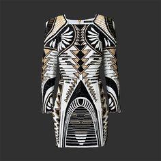 Klassieke Franse couture meets urban chic #HMBalmaination